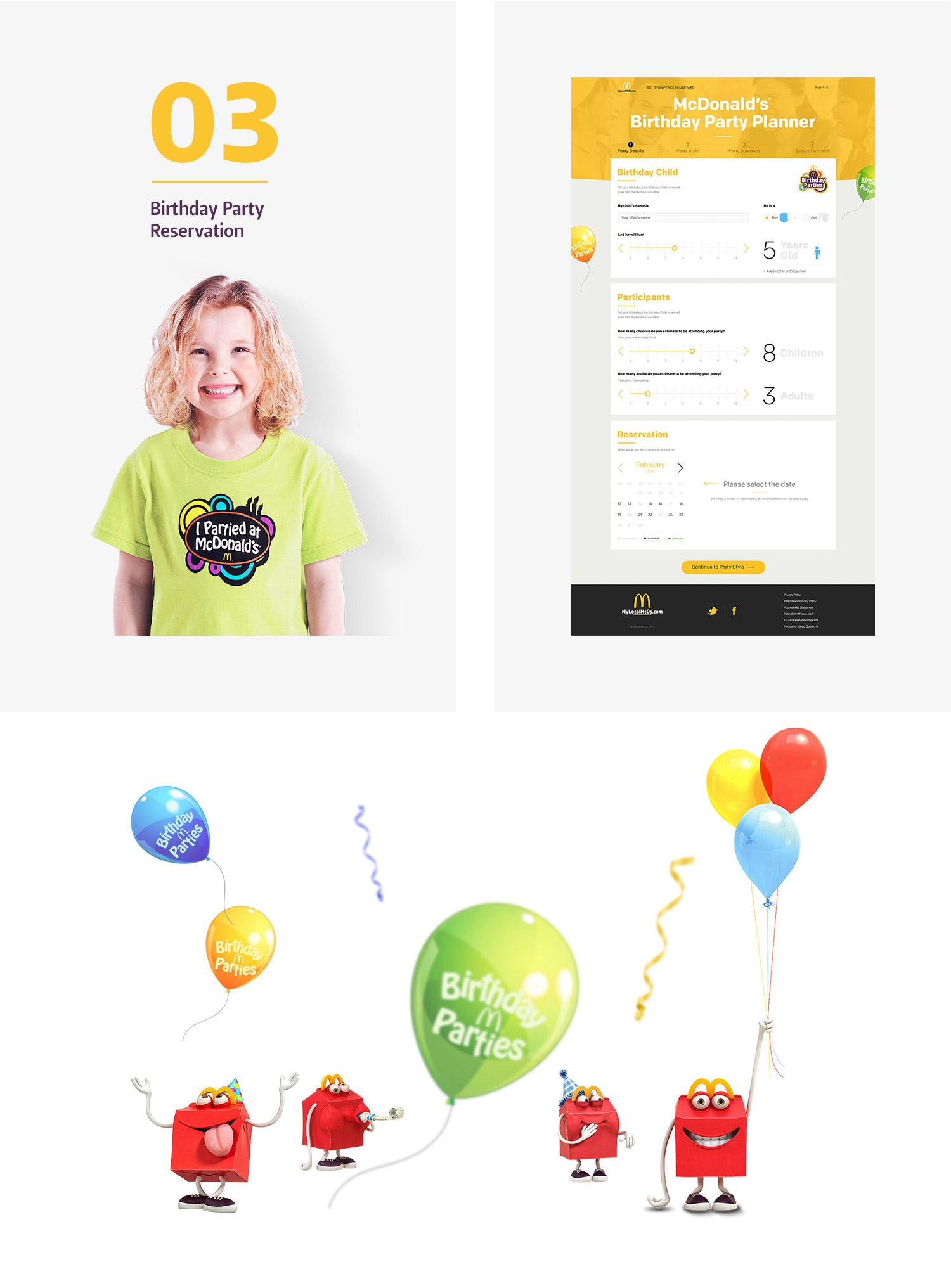 Birthday-Party-reservation-website-design