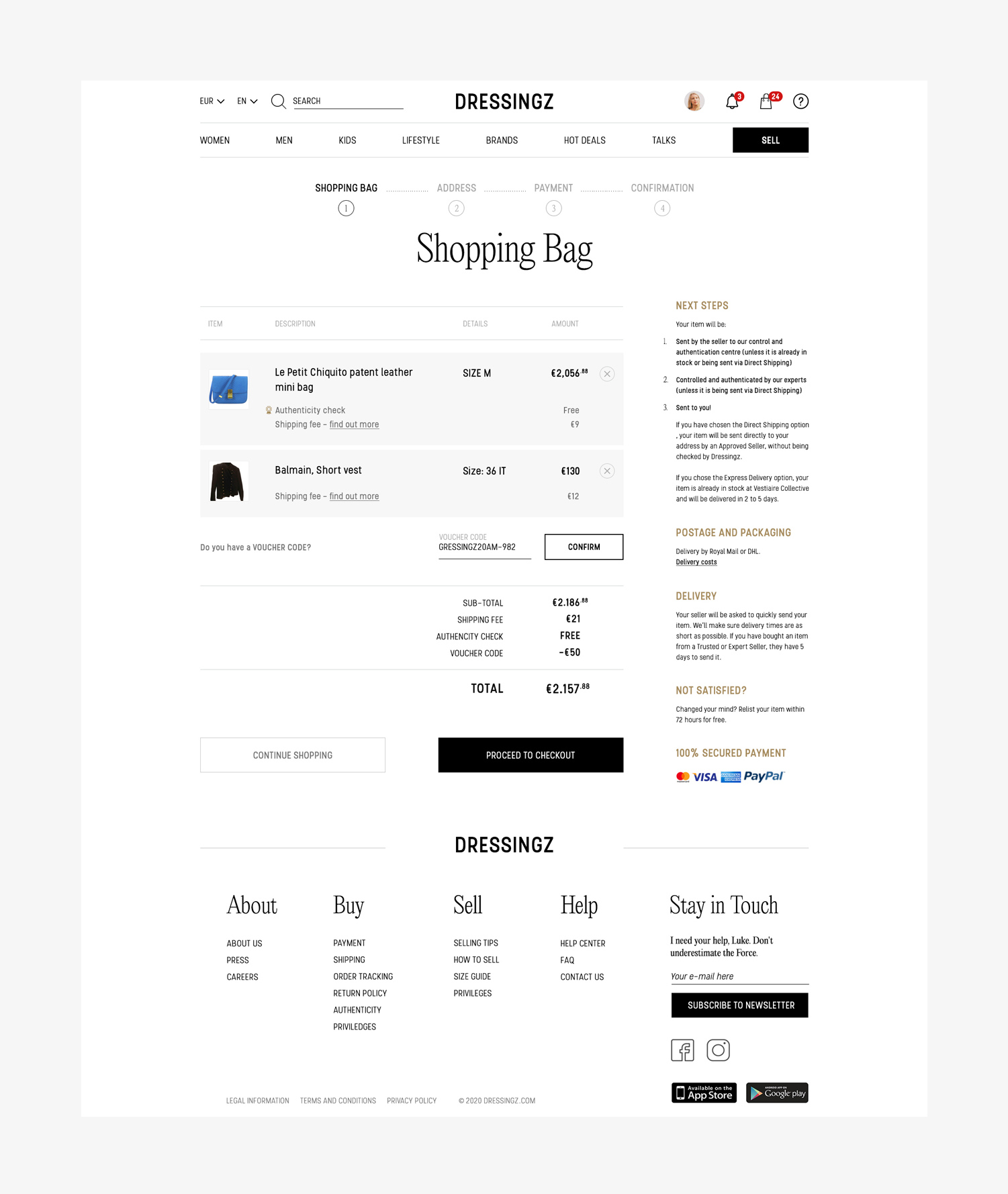 shopping-page-design-layout
